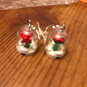 Lego earrings Beauty and the Beast for Disney!